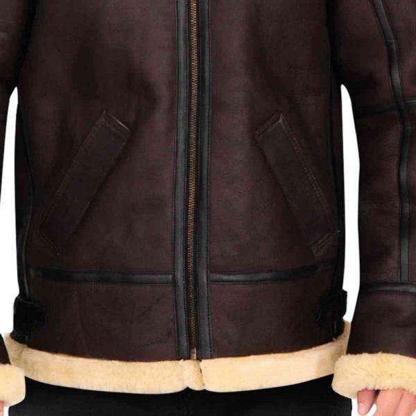 B3 Bomber Shearling Jacket