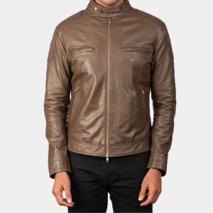 Cafe Racer Biker Jacket