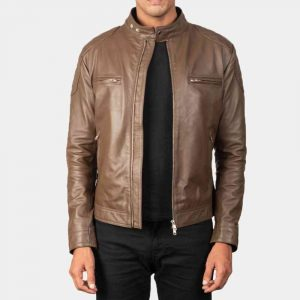 Motorcycle Cafe Racer Style Jacket