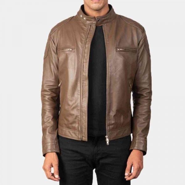 Motorcycle Cafe Racer Style Jacket