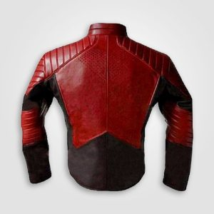 Red and Black Superman Jacket