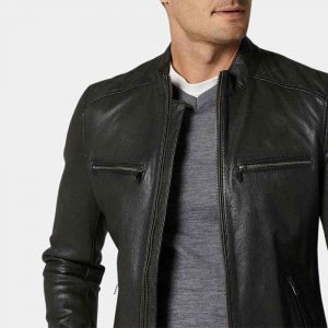 full grain leather jacket