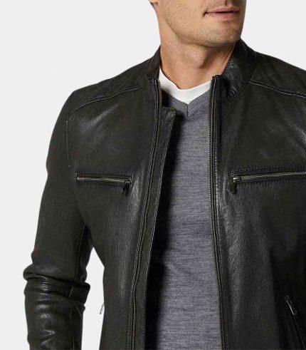 full grain leather jacket